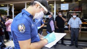 Ankara'da Kovid-19 denetimlerinde 16 bin 525 kişiye para cezası verildi