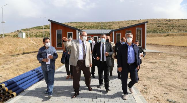Ankara Vali Yardımcısı Dölek'ten inceleme