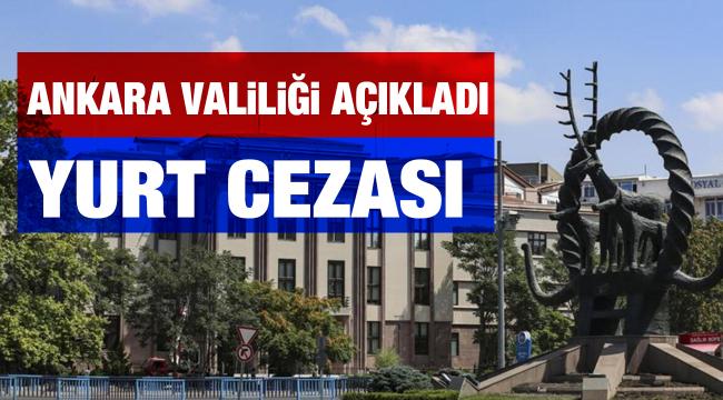 Ankara Valiliği açıkladı koronavirüs kurallarına ihlal edenlere ceza yağdı