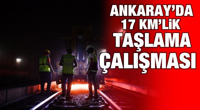 Ankaray'da güvenlik ve konfor çalışması