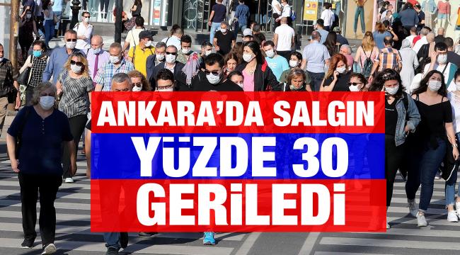 Araştırma:Ankara'da salgın yüzde 30 geriledi