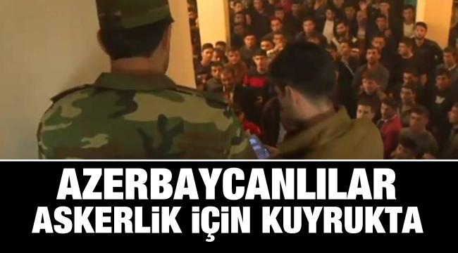 Azerbaycan halkı cepheye gidiyor