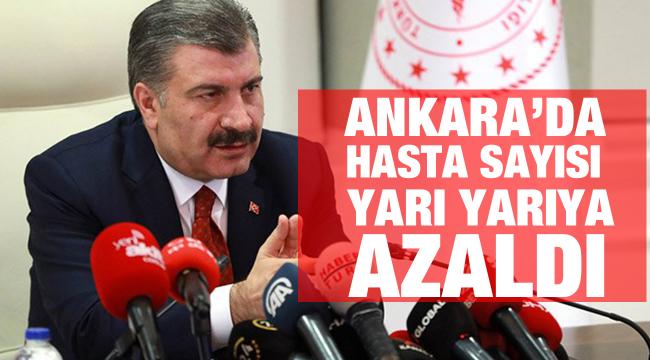 Bakan Koca, Ankara'daki vakaları değerlendirdi