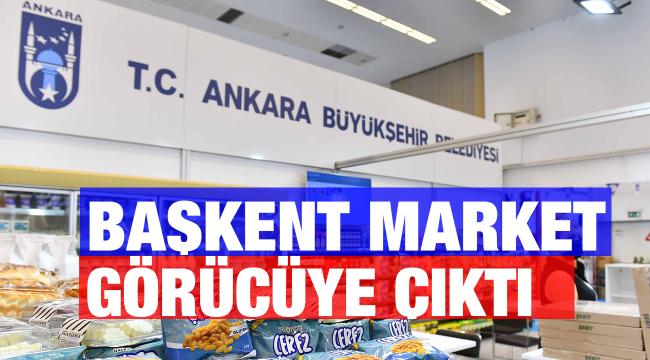 Başkent Market, Türkiye Kooperatifler Fuarı'nda görücüye çıktı