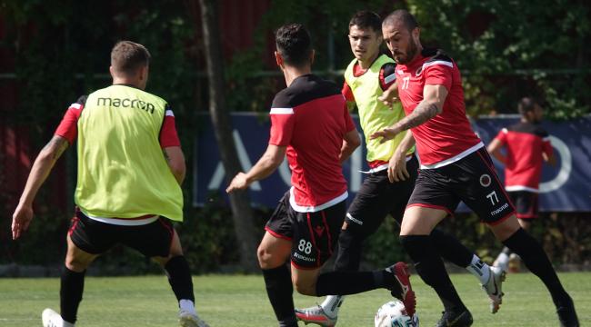 Beşiktaş hazırlıkları devam ediyor