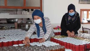 Kadın muhtar öncülüğünde kurulan kooperatif üretime geçti