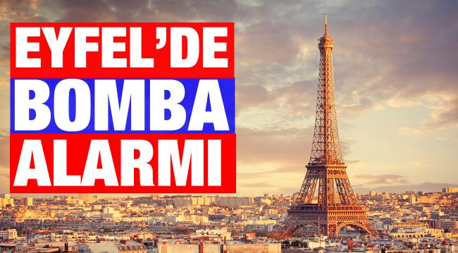 Paris'teki Eyfel Kulesi'nde bomba alarmı