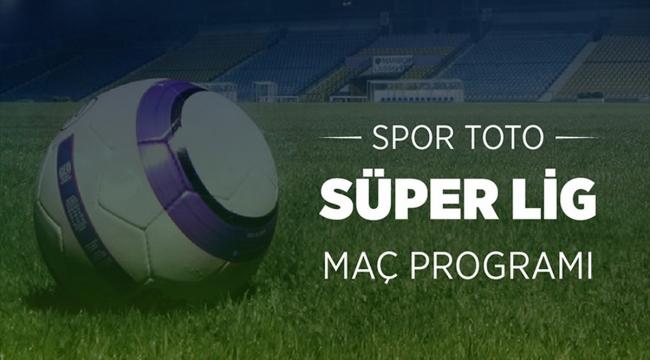 Süper Lig'de 2.haftanın programı