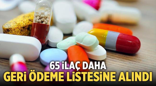 1 kanser, 5 diyabet ilacı geri ödeme listesine alındı
