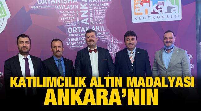 Ankara Kent Konseyi'ne uluslararası ödül