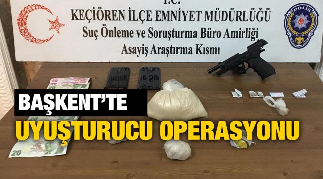 Başkent'te uyuşturucu operasyonunda 6 şüpheli yakalandı