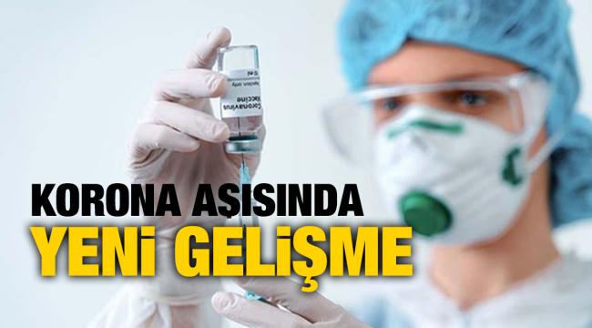 Covid-19 aşı çalışmaları ile ilgili yeni gelişme