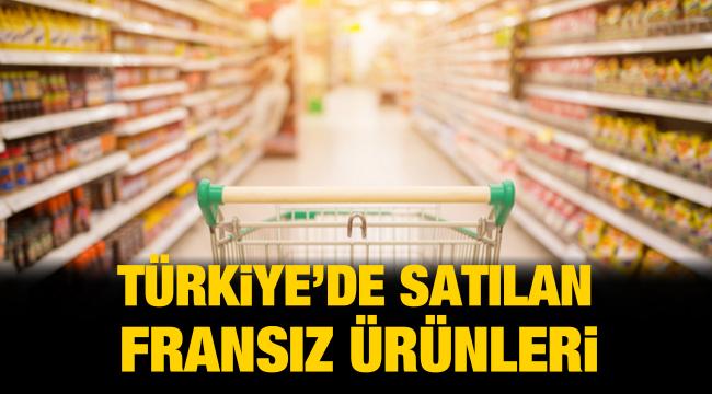 Türkiye'de satılan Fransız ürünleri