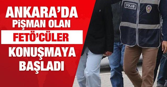 Ankara'da FETÖ/PDY mensupları etkin pişmanlıktan yararlandı