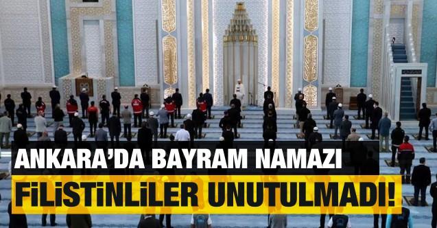 Ankara'da Ramazan Bayramı namazı kılındı