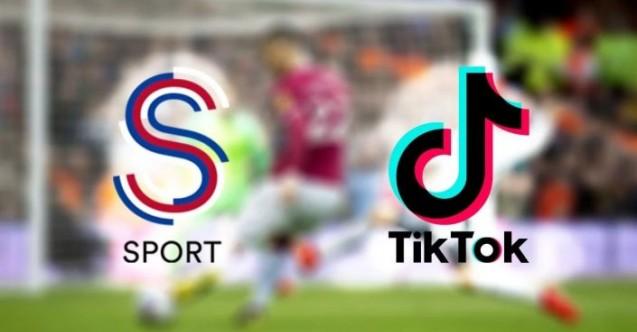 S Spor'dan TikTok'la işbirliği! S Sport, maçların TikTok'ta izlenebileceğini açıkladı