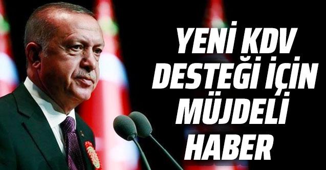 Cumhurbaşkanı Erdoğan'dan turizmde KDV desteği konusunda müjde gelecek
