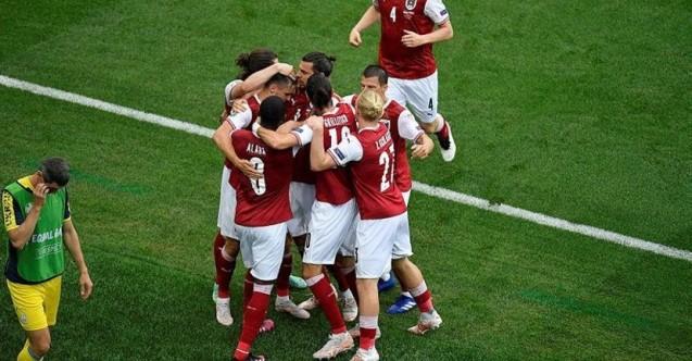 EURO 2020'de Avusturya tek golle yola devam ediyor! Ukranya 0 - Avusturya 1