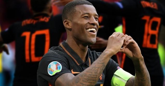 EURO 2020'de Hollanda'nın bileği bükülmüyor! Kuzey Makedonya 0 - Hollanda 3