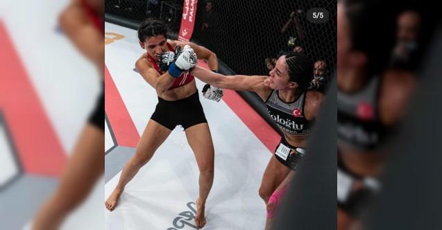 MMA'yı kazanan İlk Türk kadın Sabriye Şengül