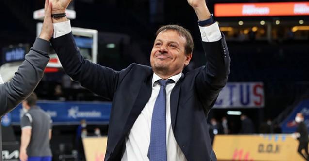 THY Avrupa Ligi'nin en iyi başantrenörü Ergin Ataman