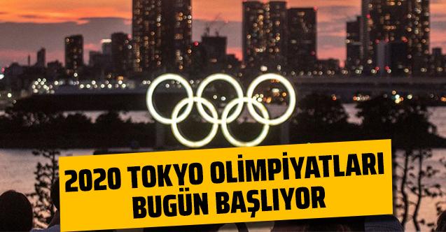 2020 Tokyo Olimpiyatları bugün başlıyor!