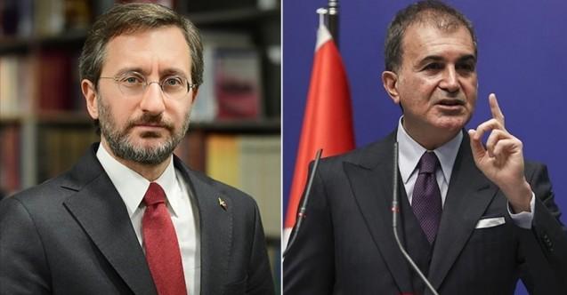 Ak Parti Sözcüsü ve İletişim Başkanı şehit ailelerine taziyelerini iletti