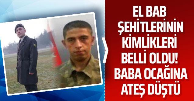 El Bab'da şehit olan 2 askerin kimlikleri belli oldu! Ordu ve Samsun'a ateş düştü