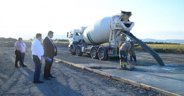 Kahramankazan Belediyesi kendi betonunu üretmek için kolları sıvadı