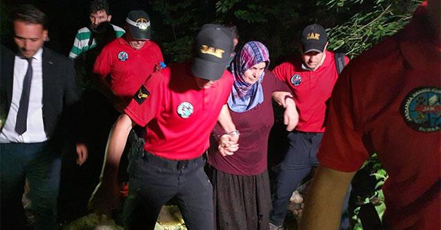 Uludağ'da kaybolan kadın 52 saat sonra bulundu! Odun toplamaya gitmişti