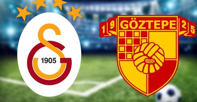 Galatasaray Göztepe maçında ilk 11'ler belli oldu
