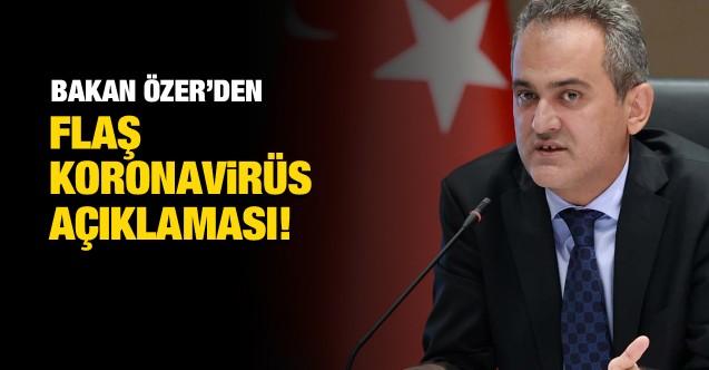 Mahmut Özer'den koronavirüs ile ilgili flaş açıklama!
