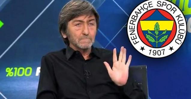 Rıdvan Dilmen'den Fenerbahçeli yıldıza övgü: Adam yer!