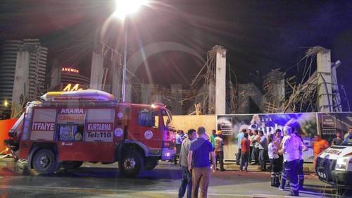 Adana'da İnşaatta Çökme: 7 Yaralı
