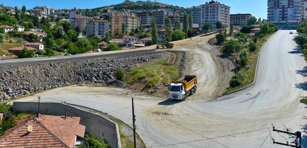 Altındağ'da Yol Genişletme Çalışması