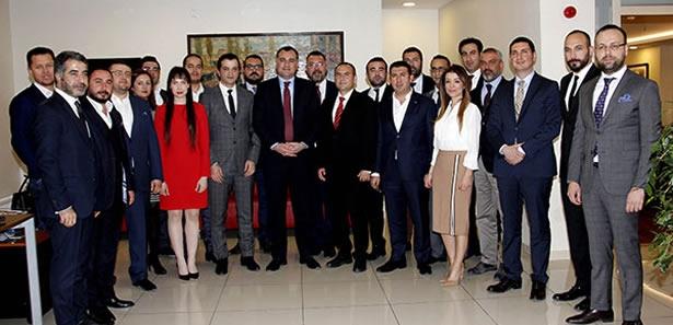 'ANGİAD' Alper Taşdelen'i Ziyaret Etti