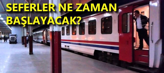 Ankara'da Mavi Tren Seferleri İptal!