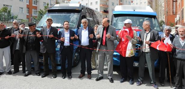 Ankara'da ''O'' Semtlerde Yeni Dolmuş Hattı Açıldı