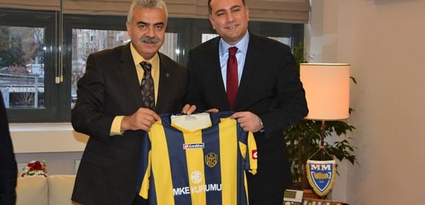 Ankaragücü Başkanı Akyüz'den Çankaya Ziyareti