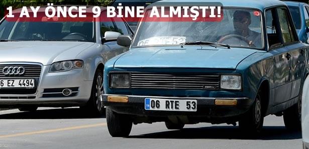 Ankaralı Vatandaş 06 RTE 53 Plakayı Bakın Kaça Satıyor