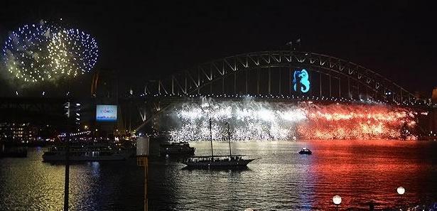 Avustralya Yeni Yıla Girdi