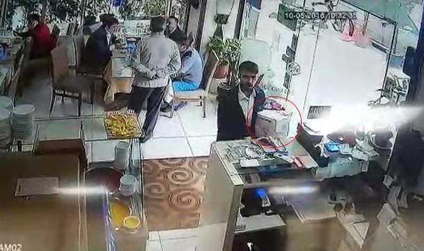 Bağcılar'da Hırsızın Soğukkanlılığı Görenleri Şaşırttı