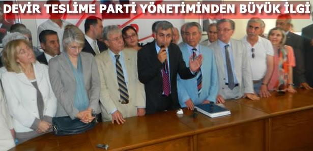 CHP Ankara İl Başkanı Necati Yılmaz Göreve Başladı