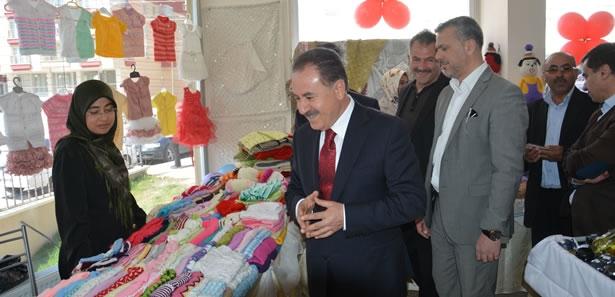 Elmadağ'da Eğitim Gönüllülerinden Kermes