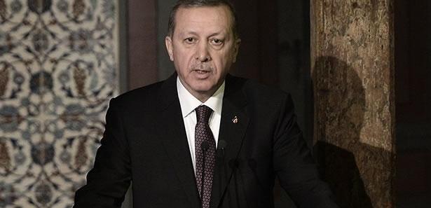 Erdoğan: 'Tek Bayrak, Tek Vatan, Tek Devlet'