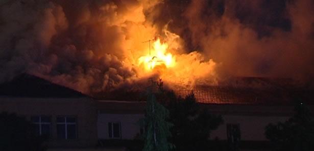 FLAŞ AÇIKLAMA: ''Numune Hastanesi'ndeki Yangın...''