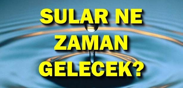 HAT BOZULDU! Ankara'da Şu An 3 İlçe 27 Bölgede Su Kesintisi