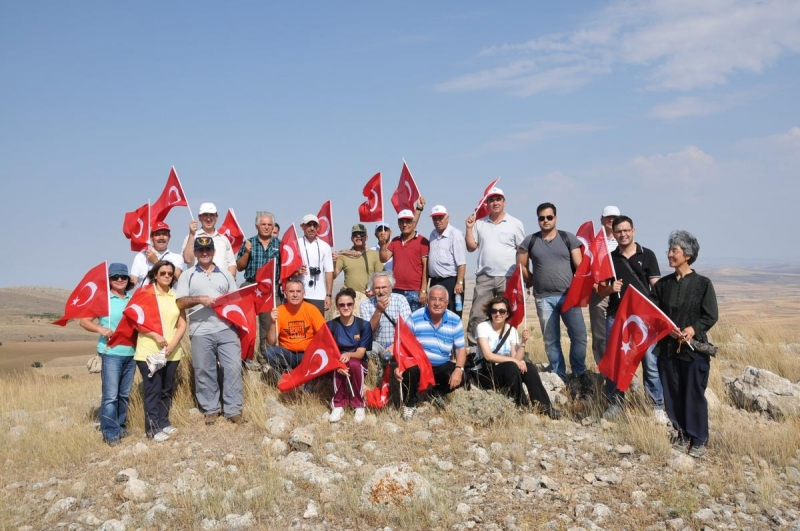Haymana'da Tarihe Saygı Yürüyüşü Gerçekleştirildi