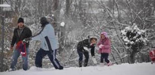 İç Kesimleri Kuvvetli Kar Uyarısı