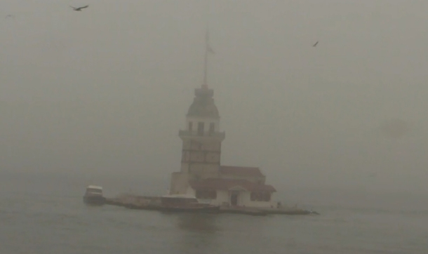 İstanbul'da Şehir Hatları Seferleri İptal